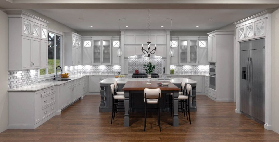 custom kitchen DT