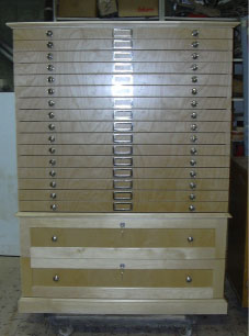 custom storage drawers